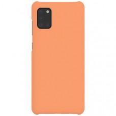 Чехол накладка для Samsung Galaxy A31 Wits Hard Case GP-FPA315WSAOR Оранжевый