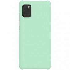 Чехол накладка для Samsung Galaxy A31 Wits Hard Case GP-FPA315WSAMR Мятный