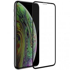 Защитное стекло для Apple iPhone XR Glass Pro Glue tempered 6D Черное