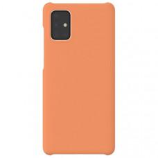 Чехол накладка для Samsung Galaxy A21S Wits Hard Case GP-FPA217WSAOR Оранжевый