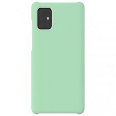 Чехол накладка для Samsung Galaxy A21S Wits Hard Case GP-FPA217WSAMR Зеленый