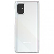 Чехол накладка для Samsung Galaxy A21S Wits Hard Case GP-FPA217WSATR Прозрачный