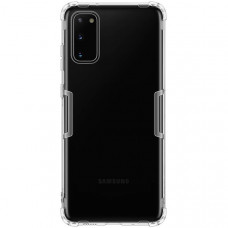 Силиконовый чехол для Samsung Galaxy S20 Nillkin Nature TPU Case Белый