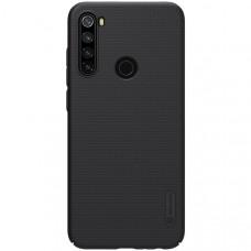 Чехол накладка для Xiaomi Redmi Note 8T Nillkin Super Frosted Shield Черный
