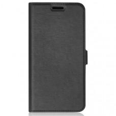 Чехол книжка для Samsung Galaxy M11 DF sFlip 66 Черный