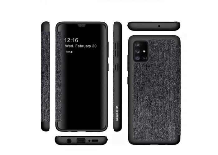 Чехол книжка для Samsung Galaxy A51 Skinbox Star war 1 Черный