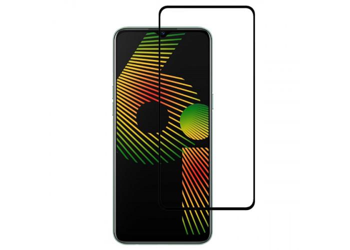 Защитное стекло для Realme 6i Red Line Full Screen Черное