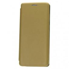 Чехол книжка для Samsung Galaxy A31 Fashion Case Золотой