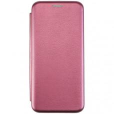 Чехол книжка для Samsung Galaxy A51 Fashion Case Бордовый