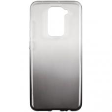 Силиконовый чехол для Xiaomi Redmi Note 9 iBox Crystal Светло черный