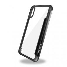 Чехол накладка для Samsung Galaxy A01 Skinbox Iron Man Черный