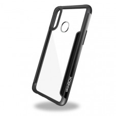 Чехол накладка для Samsung Galaxy A20S Skinbox Iron Man Черный