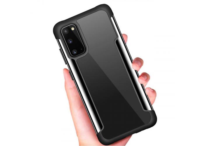 Чехол накладка для Samsung Galaxy S20 Skinbox Iron Man Черный