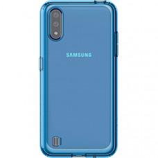 Силиконовый чехол для Samsung Galaxy M01 Araree M Cover GP-FPM015KDALR Синий