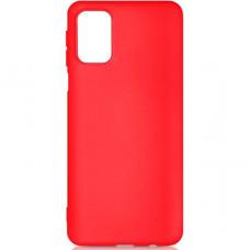 Силиконовый чехол для Samsung Galaxy A41 DF s 10 Красный