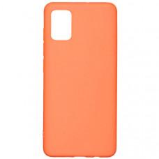 Силиконовый чехол для Samsung Galaxy A51 Red Line Ultimate Оранжевый