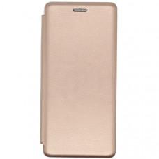 Чехол книжка для Samsung Galaxy A02S Fashion Case Золотой