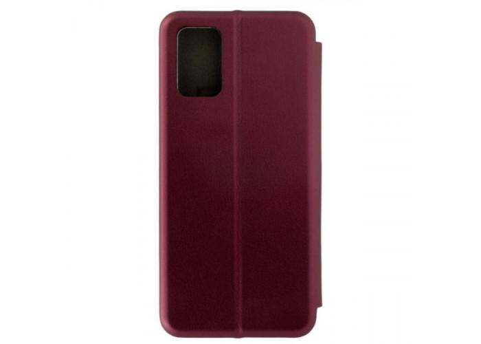 Чехол книжка для Samsung Galaxy A02S Red Line Unit Бордовый