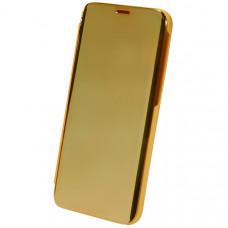 Чехол книжка для Samsung Galaxy M31s Clear View Золотой