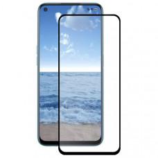Защитное стекло для Realme 7 Glass Pro Full Glue Черное